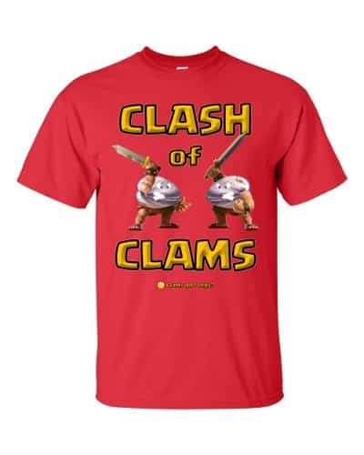 Clash of Clams T-Shirt (Unisex)