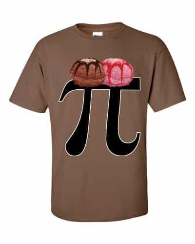 Pi a la Mode T-Shirt (chestnut)