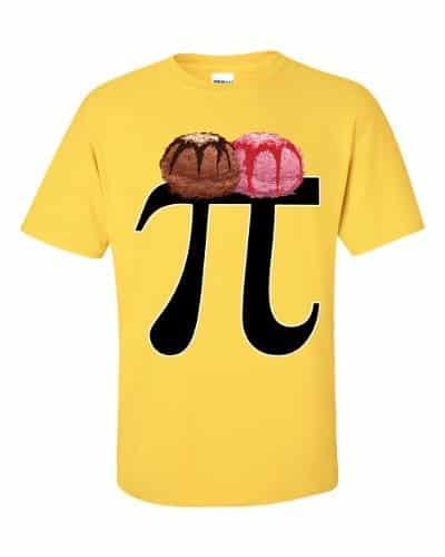Pi a la Mode T-Shirt (daisy)