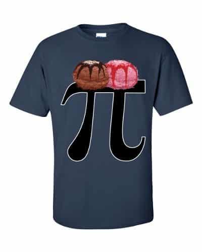 Pi a la Mode T-Shirt (navy)