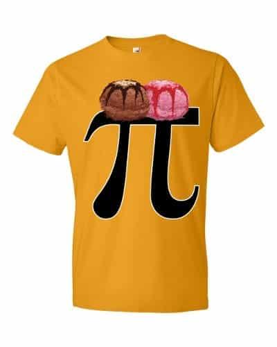 Pi a la Mode T-Shirt (tangerine)