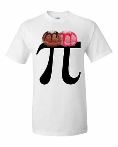 Pi a la Mode T-Shirt (white)