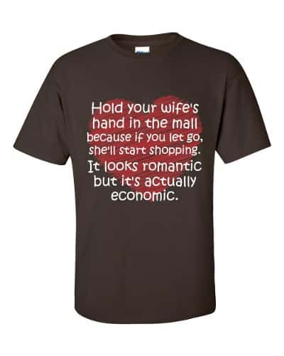 Hold Your Wife's Hand T-Shirt (chocolate)