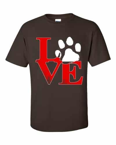 Puppy Love T-Shirt (chocolate)