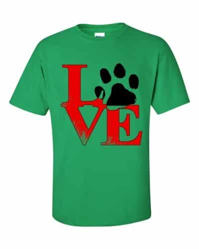 Puppy Love T-Shirt (shamrock)