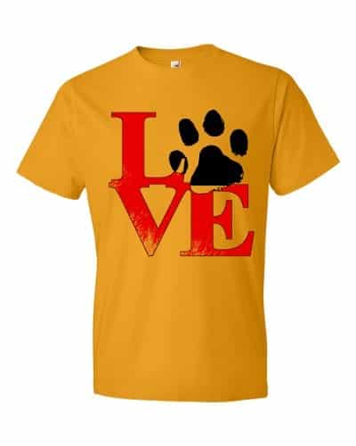 Puppy Love T-Shirt (tangerine)