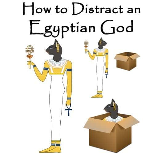 How to Distract an Egyptian God T-Shirt (Unisex)