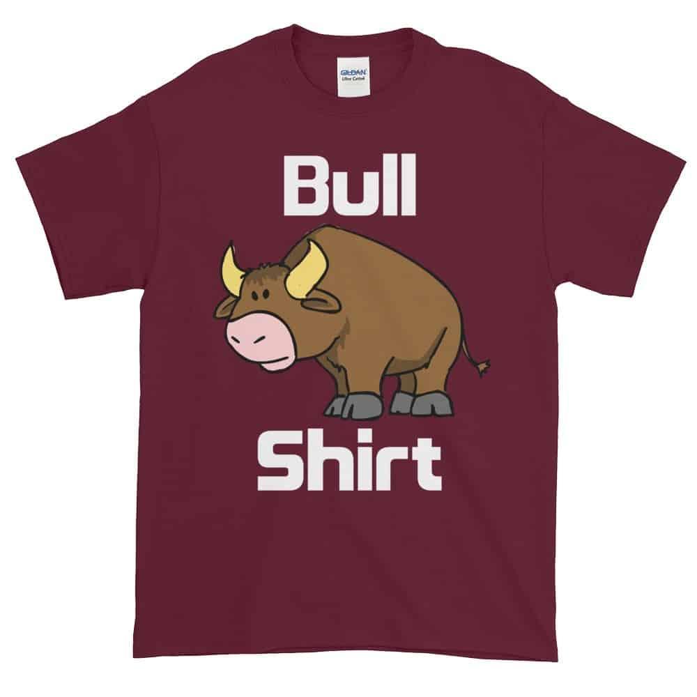 Bull Shirt T-Shirt (maroon)