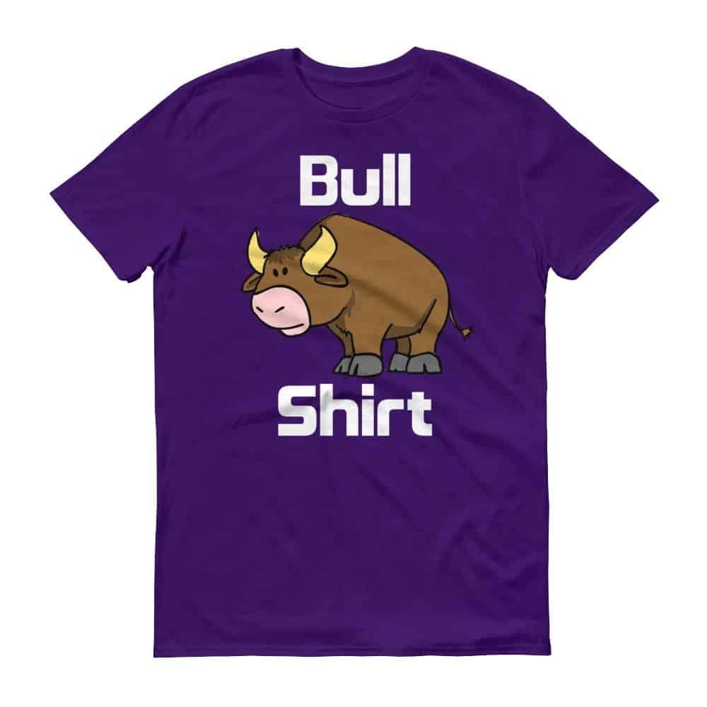 Bull Shirt T-Shirt (purple)