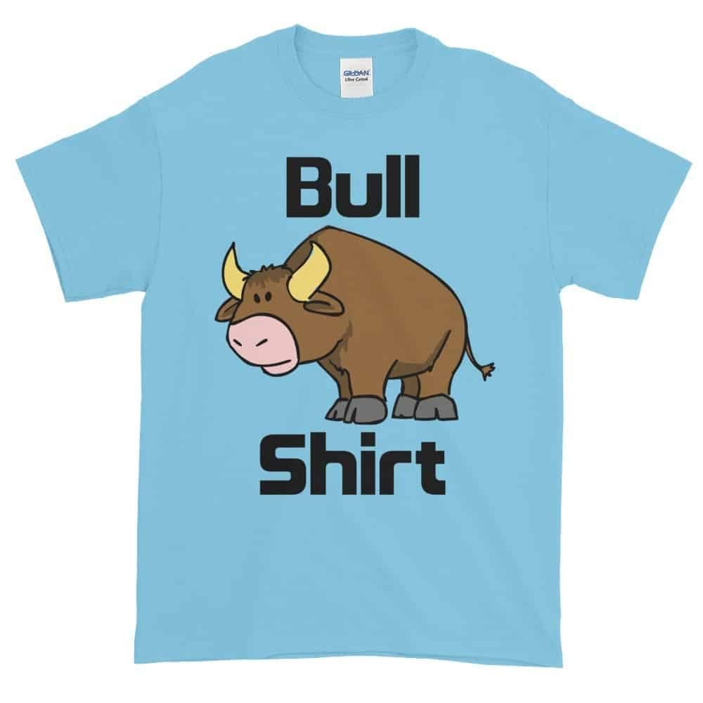 Bull Shirt T-Shirt (sky)