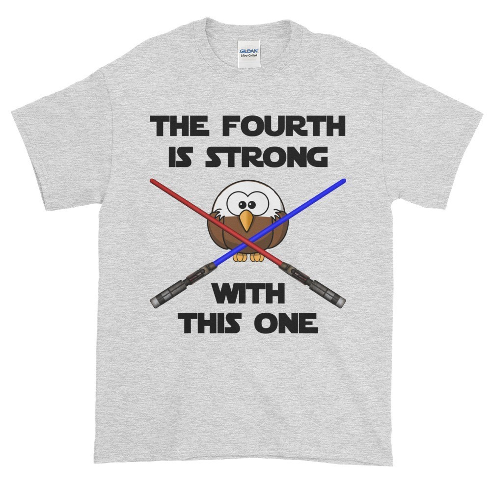 The Fourth is Strong T-Shirt (ash)
