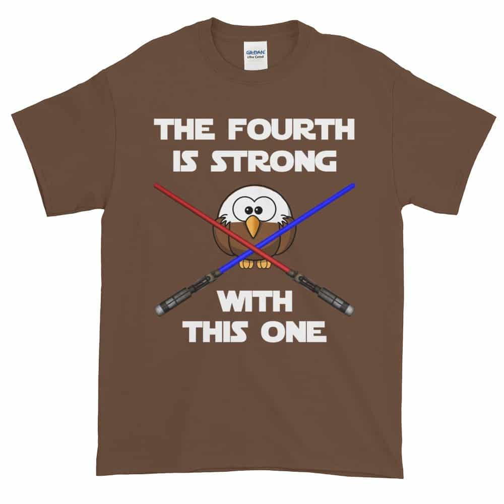 The Fourth is Strong T-Shirt (chestnut)