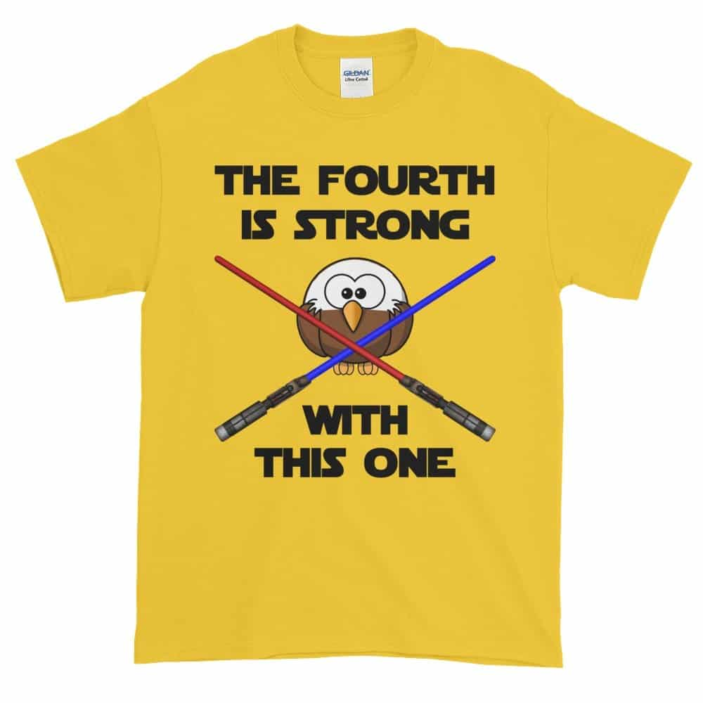 The Fourth is Strong T-Shirt (daisy)