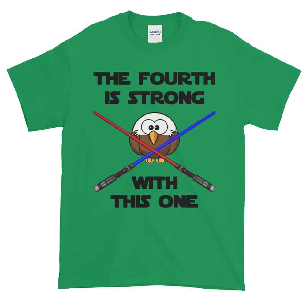 The Fourth is Strong T-Shirt (shamrock)