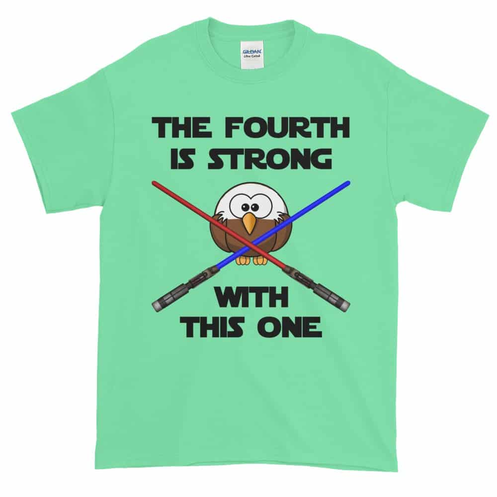 The Fourth is Strong T-Shirt (mint)