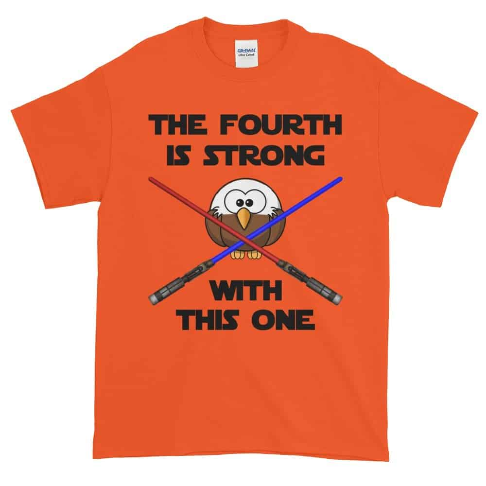 The Fourth is Strong T-Shirt (orange)