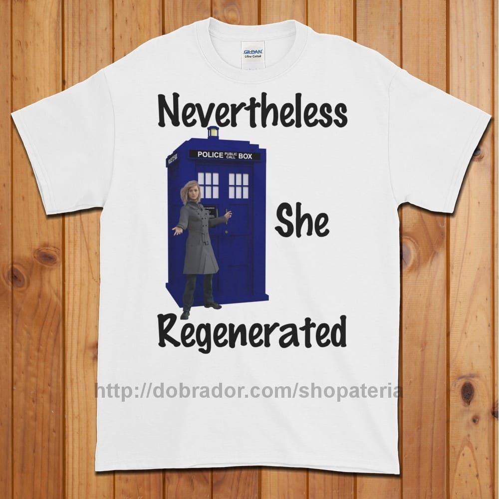 Nevertheless She Regenerated T-Shirt (Unisex)