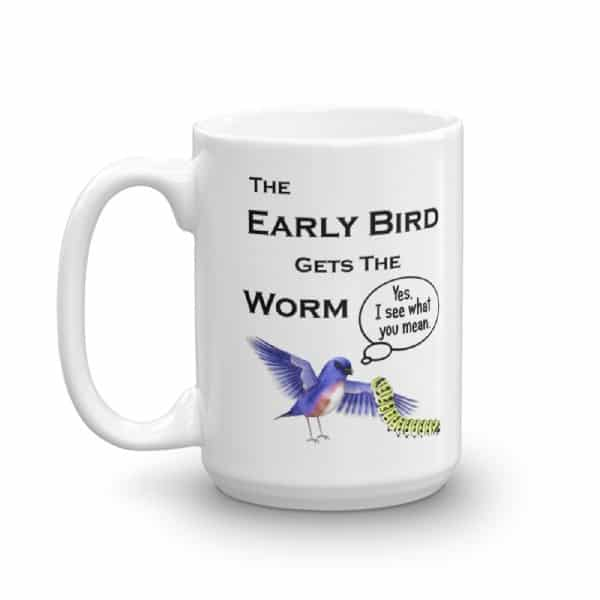 the early bird did not get The early worm gets the bird is a 1938 produced, 1940 released merrie melodies cartoon supervised by tex avery (credited as fred avery on the original issue) the name is a play on the adage the early bird gets the worm.