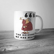 The Neighbor of the Beast Mug