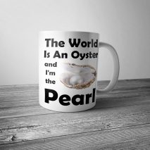 The World is an Oyster Mug