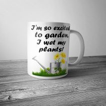 I Wet My Plants Mug