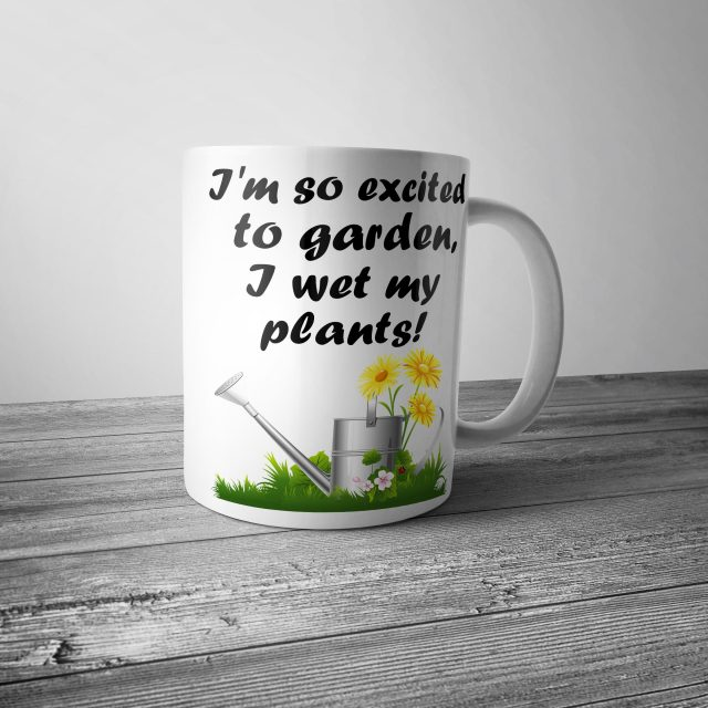 I Wet My Plants Gardening Mug