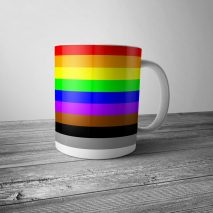 Diversity and Inclusion Rainbow Mug