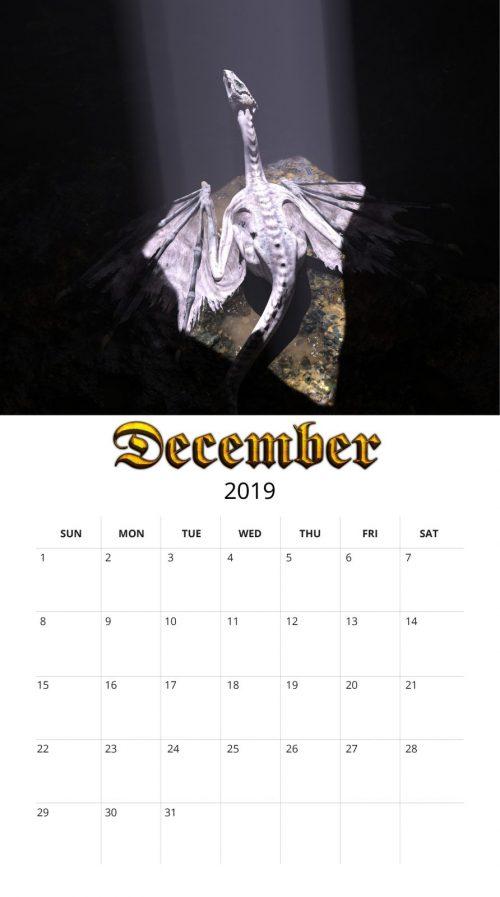 2019 Dragon Calendar