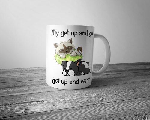 My Get Up and Go Mug