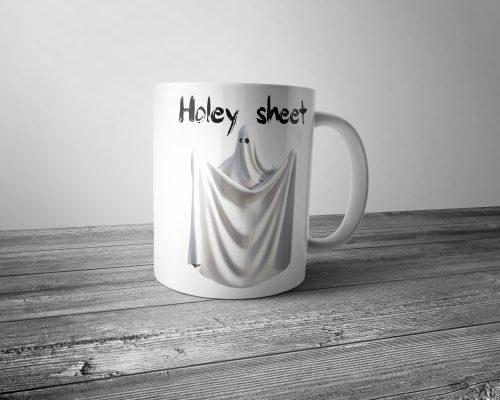 Holey Sheet Mug